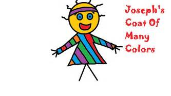 coats of many colors joseph and the coat of many colors crafts