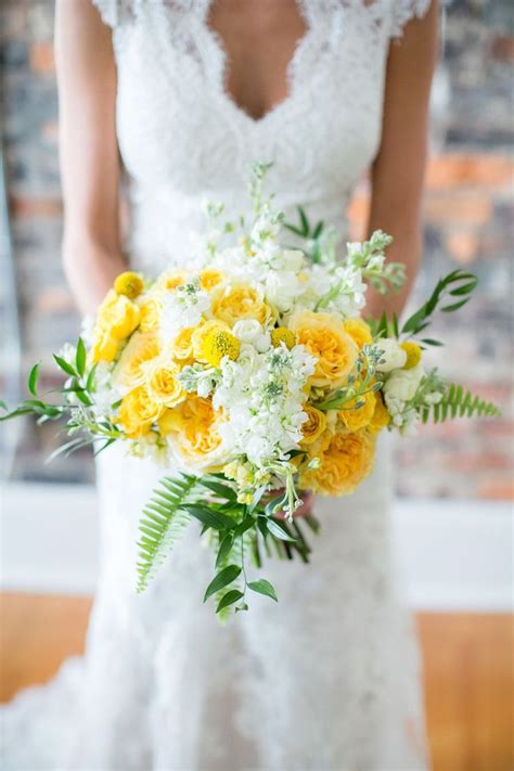 Wedding Bouquet Yellow by Best 25 Yellow Bouquets Ideas On Yellow
