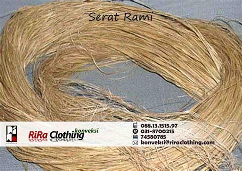 Contoh Tali Rami jenis serat alami jenis serat alami