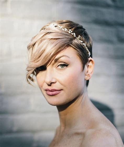 Bridal Hairstyles Side Bangs by Side Swept Bangs And Sweet Bridal Hairstyles