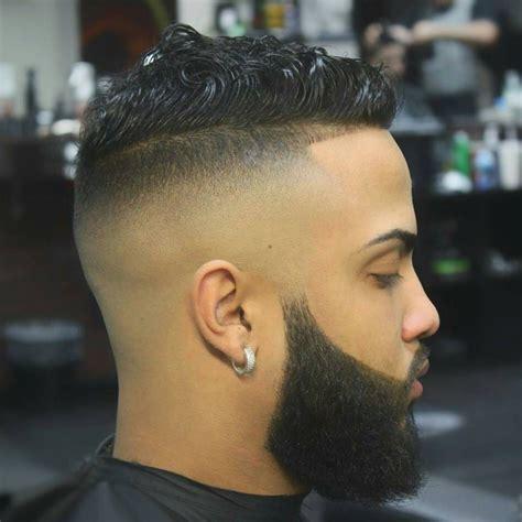 hairstyles high fade with beard fade hairstyles with beard low fade haircut with beard