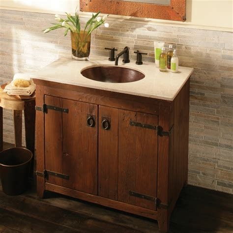 Bathroom Cabinets Wood Decoration Ideas Chic Design Ideas With Reclaimed Wood Bathroom Vanities Bathroom Vanity Set