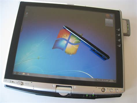 pc tablets with windows 7 windows 7 on the toshiba portege m200 tablet pc