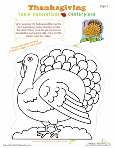 educational thanksgiving coloring pages thanksgiving centerpiece coloring page education com