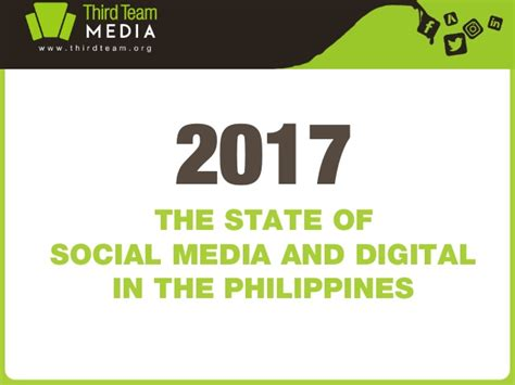 thesis about social media marketing in the philippines the state of social media and digital in the philippines