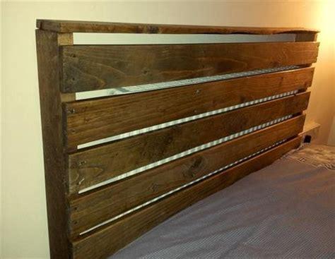 Headboard With Pallets by Beautiful Diy Pallet Headboard Bed Pallets Designs