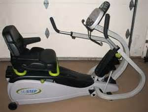 Nustep t4 recumbent cross trainer stepper machine gym fitness