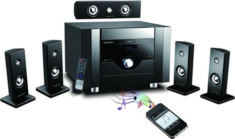 professional 5 1 home theater active speaker with wireless