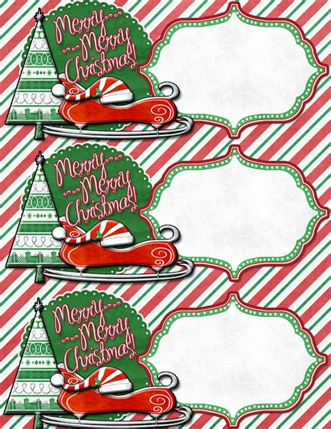 large printable christmas gift tags search results