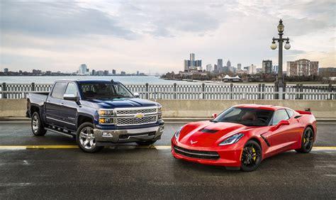 chevy corvette stingray and silverado named american
