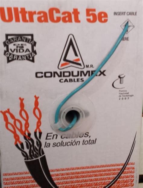 Dijamin Ls Simple Cable Kabel Utp Cat 5e bobina de cable utp cat 5e condumex color azul 1 200 00 en mercado libre