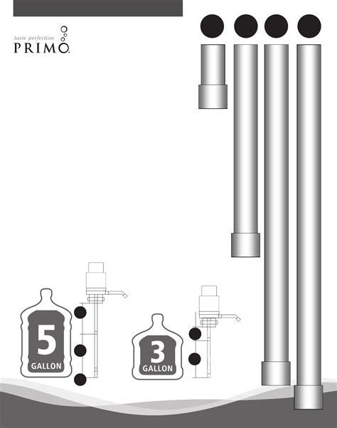Manual Water primo water water 900179 user guide manualsonline