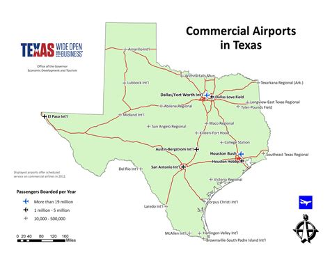 map of with airports map room official economic development corporation