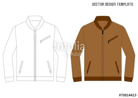 desain vektor jaket quot leather jacket design template quot stock image and royalty