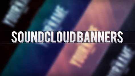 Free Soundcloud Banners Youtube Soundcloud Banner Template