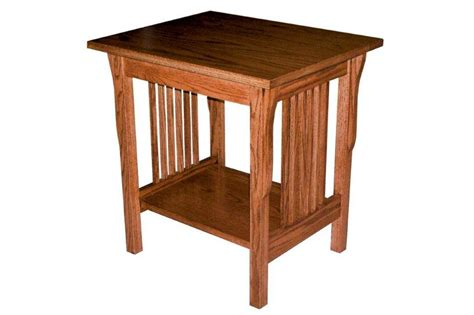 Small End Tables Amish Prairie Mission Small End Table