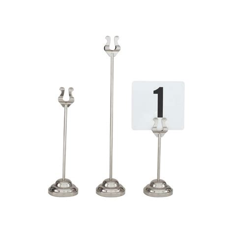 harp table number holders trenton international harp clip table number stand