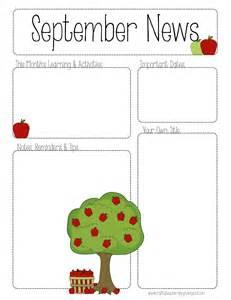 the crafty teacher september printable newsletter all