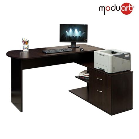 escritorio l escritorio el l moduart wengue madera ktronix