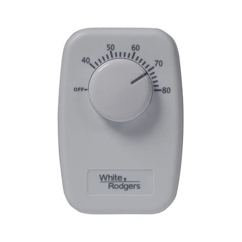 pole baseboard thermostat white rodgers b50 baseboard non programmable thermostat