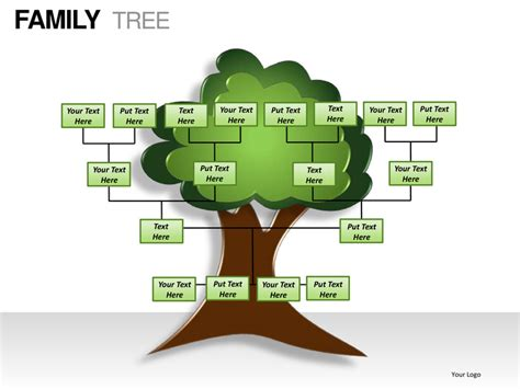 free family tree template powerpoint family tree powerpoint presentation templates