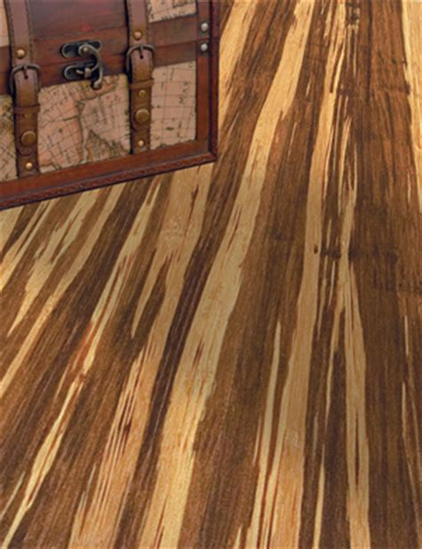 "Natural Strand Bamboo Tigerwood 5/8"" x 5 5/8"" x 72"""