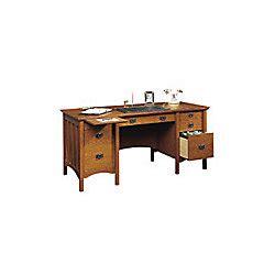 office depot sauder desk sauder mission executive desk fruitwood by office depot