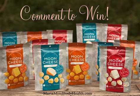 Cheese Giveaway - maria mind body health
