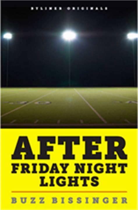 friday night lights book author books