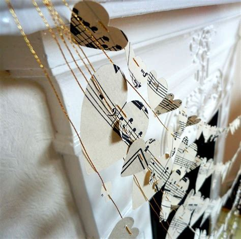 music themed wedding accessories ceremony reception decor