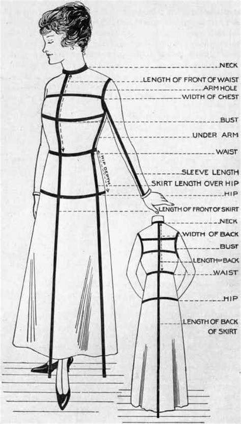 pattern making menswear pattern making shirtwaist as fundamental pattern part 2