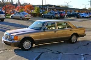 1987 Mercedes 420 Sel 1987 Mercedes 420 Sel Gold Sedan For Sale Photos