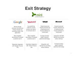 exit plan template exit strategy allows low