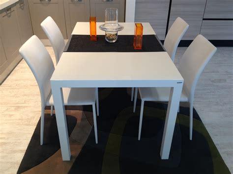 scavolini tavolo tavolo scavolini mod quadrifoglio bianco 150 x 90 cm all