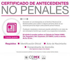 carta de no antecedente penales cdmx locatel cdmx on twitter quot 191 requieres un certificado de