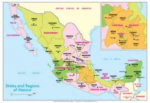 Map Of States Of Mexico by Map Of The States Of Mexico You Can See A Map Of Many