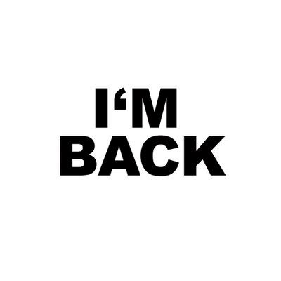 Im Back 2 by Balance Variety And Moderation Rdn
