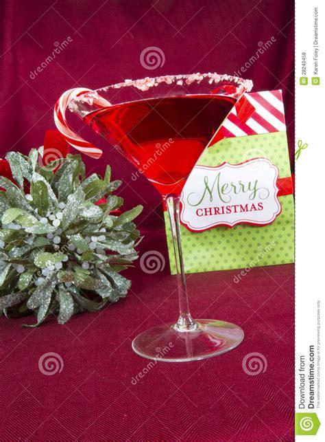 merry christmas cocktail stock photo image  santatini