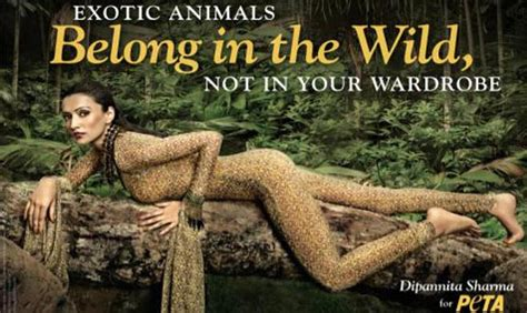 According To Peta All Animal Skin Is The Same by Dipannita Sharma Features In Provocative Peta Ad To