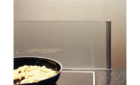 glas hinter kochfeld herd spritzschutz f 252 r k 252 cheninsel 60 er glas ebay