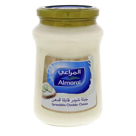 Almarai Spreadable Cheddar 500gram buy almarai spreadable cheddar cheese 500 gm in uae