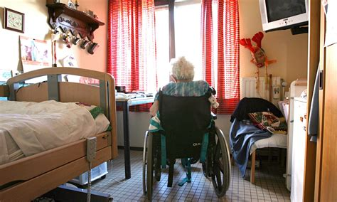 the guardian view on elderly care a frail helping