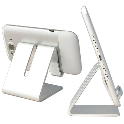 Universal Aluminum Phone Desk Stand Holder For Mobile Tablet Stand For Desk