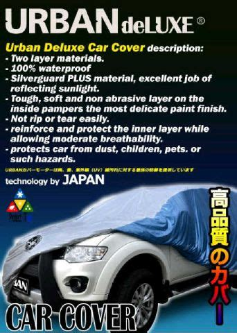 Large Mpv Cover Selimut Mobil Waterproof Anti Air jual selimut mobil cover mobil small mpv 2 lapis