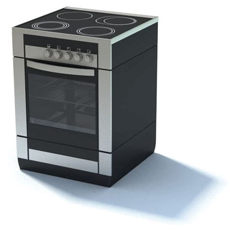 kitchen appliance electric stove 3d model cgtrader com modern stove oven 3d model cgtrader com