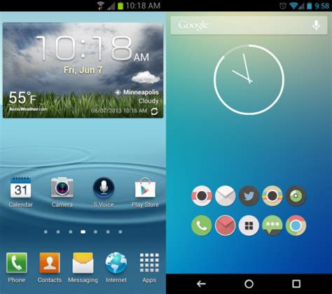 android set home screen how to clean up your android device to make it faster