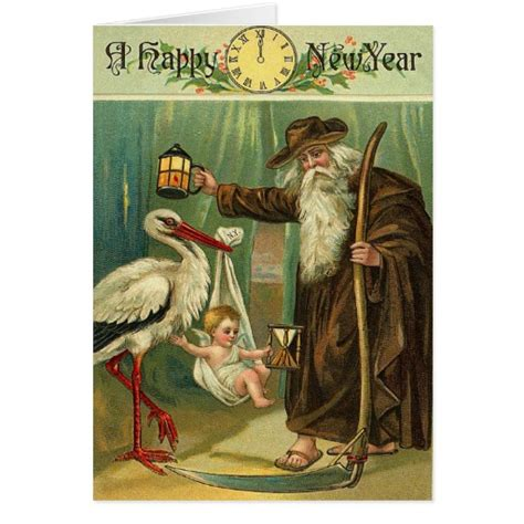vintage new years day greeting card zazzle vintage new year s greetings cards zazzle