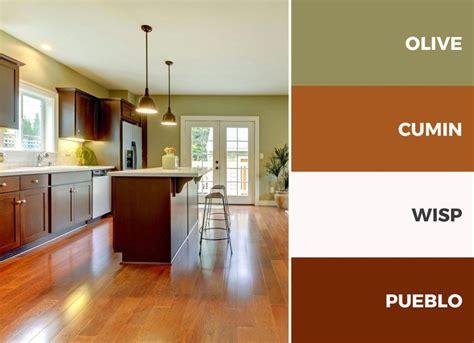 kitchen color palette captivating kitchen color schemes warm palette brown and
