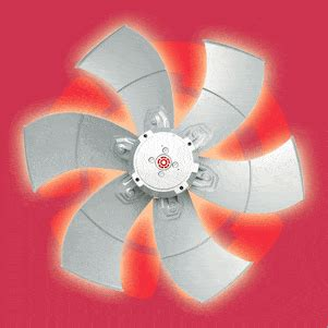 sizes  electronically commutated axial fans