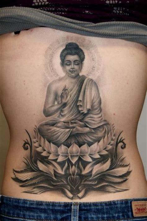 buddhist tribal tattoos buddha back religious by raptor